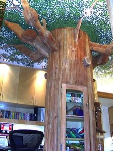 The Magic Tree in a Dental Office in Los Angeles, CA