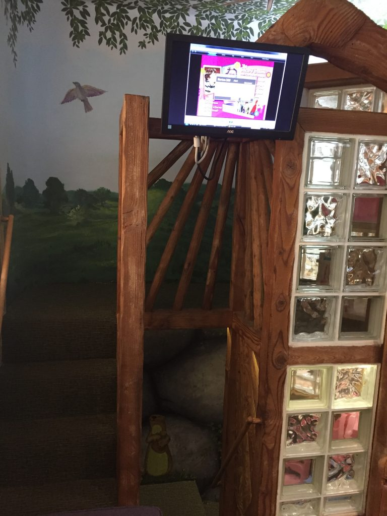 Kids Treehouse in a Dental Clinic in Los Angeles, CA